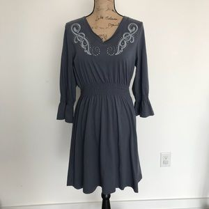 Artiat Western Style Embroidered Dress Sz Large